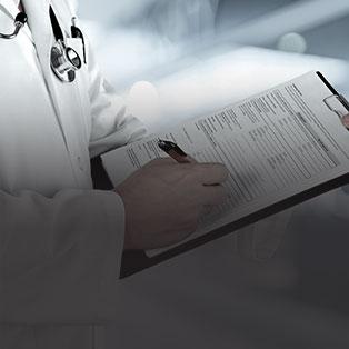 Un bilan médical<br /> complet